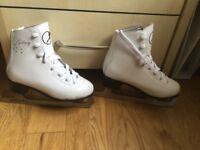 Ice skates Galaxy white UK1 EUR33