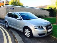 2007 Audi A3 TDI SE Sportback 5dr-HPI CLEAR-Please call me on 07768048123.