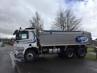 Daf cf 360 insulated tipperheeler..