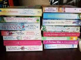 Job lot of chic lit paperback books