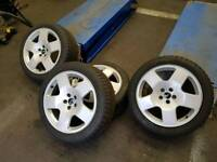 Genuine VAG 5x100 Audi TT Competition ( Comps ) Alloys With New 225/45 17 Tyres