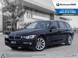 2017 BMW 3 Series 328d Xdrive Navigation! Luxury Line!
