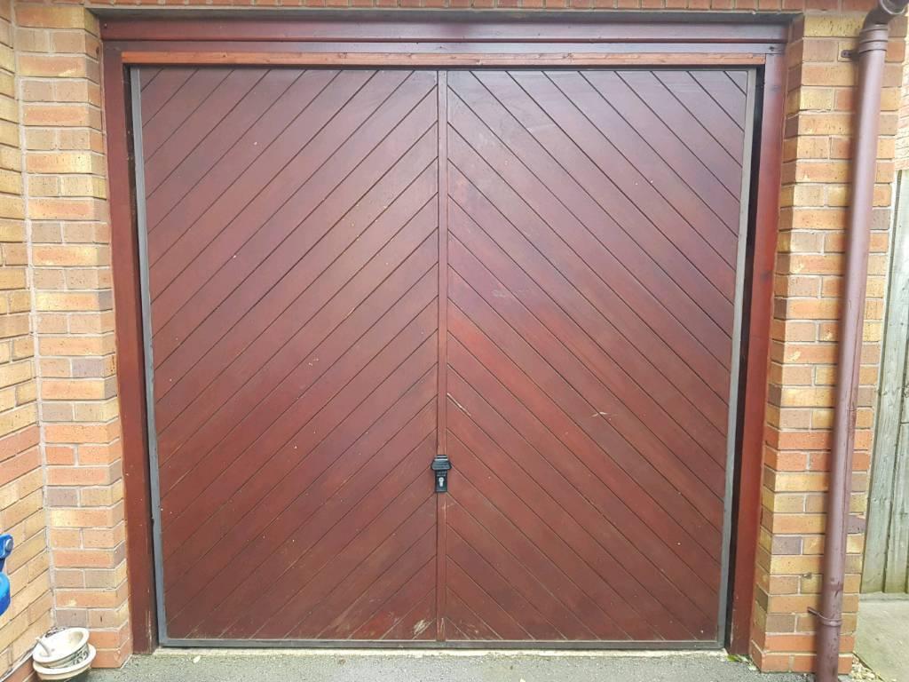 7ft X 7ft Wooden Garage Door In Bicester Oxfordshire Gumtree