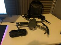 DJI Mavic Pro 4K Quadcopter Drone Fly More Combo - Mint Condition