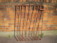 WROUGHT IRON GATE £20.00