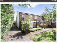 Semi-detached 3 Bedroomed House with Garage en bloc, Garden and Office x NO AGENTS CONTACT PLEASE