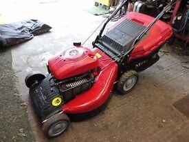 21 inch Petrol Lawnmower. self propelled.
