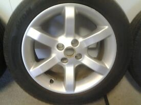 "MGF/TF 15""Alloy Wheels with tyres"