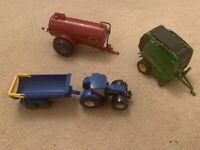 Toy farm vehicles
