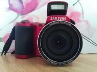 Samsung WB100 camera -RED