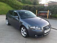 **BARGAIN PRICE**AUDI A3 SPORT TDI 2.0 DIESEL 5 DOOR HATCHBACK GREY (2007 YEAR)**