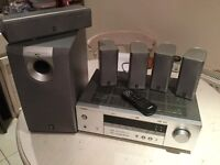 Natural sound AV receiver plus 6 speakers