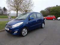 HYUNDAI I10 ACTIVE BLUE NEW SHAPE 2011 £20 ROAD TAX ONLY 55K MILES BARGAIN £2195 *LOOK* PX/DELIVERY