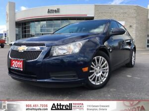 2011 Chevrolet Cruze. Keyless Entry, Bluetooth, Alloys.