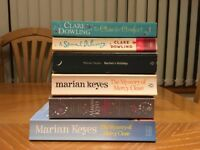 2 Clare Dowling and 4 Marian Keyes romance/novels/books £5