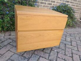 TAPLEY 33 LOW DRAWER UNIT WITH OPTIONAL CORNER ASSEMBLY