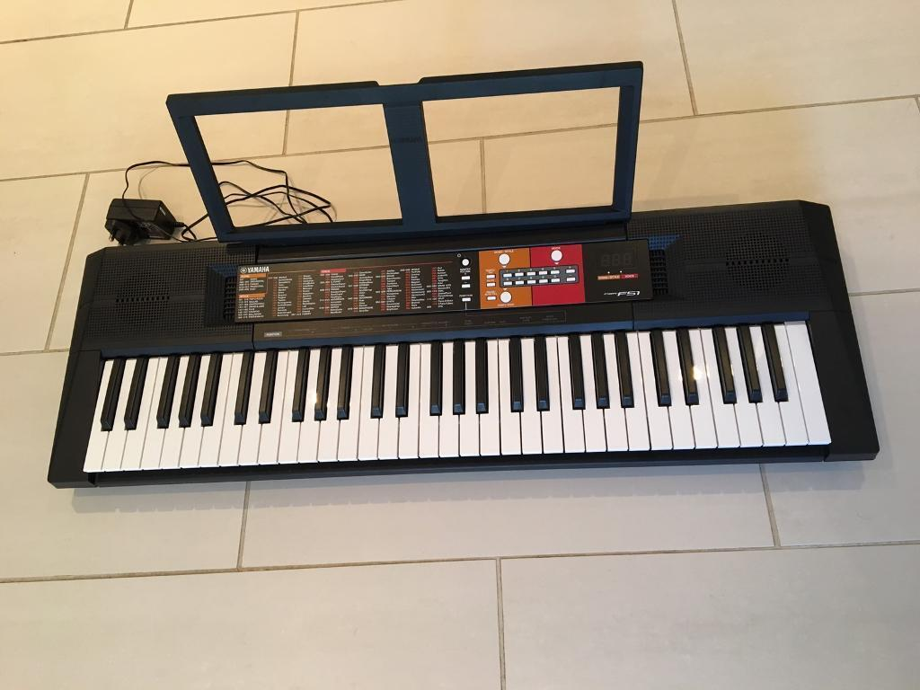yamaha psr f51 portable keyboard piano in chesterfield. Black Bedroom Furniture Sets. Home Design Ideas