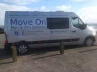 Move On - Man and Van Services Ltd. Transportation Services. House Removals. Single items.