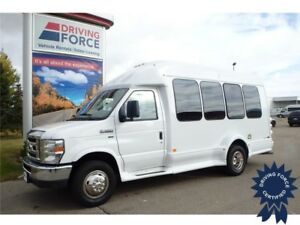 2015 Ford E-350 14 Passenger Bus, 5.4L V8 Gas, 6,342 KMs Only
