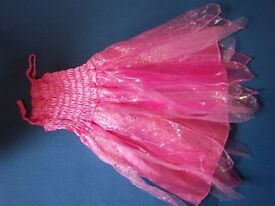 Pink Fairy Dressing Up Dress Age 6 IP1