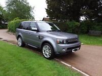Range Rover Sport 3.0 HSE TD Luxury Auto with 34,000 miles