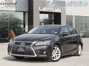 2014 Lexus CT 200h ** Navigation ** Only 20,000 km **
