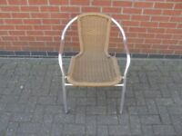 Outdoor Chair With Metal Frame