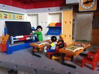 Playmobil school 5923 boxed