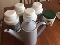 Vintage/Retro kitchen Containers and Coffee Pot