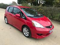 2011/60 HONDA JAZZ 1.4 I-VTEC LHD 5 DOOR RED
