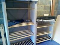 Polycotton wardrobe/cupboard set