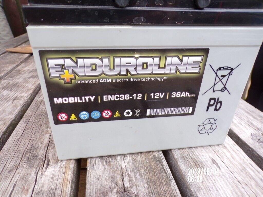 ENC36-12 Enduroline Mobility Batterie 12V 36Ah