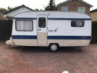 Eccles 3 berth caravan with accessories quick sale £450 no offers
