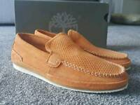 GENUINE TIMBERLAND SUEDE LOAFERS UK SIZE 7