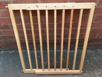 Cuggl Extending Child Gate No Step Wooden. From Argos