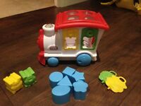 Little tikes train shape sorter
