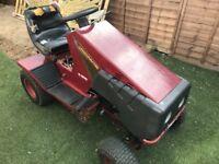 Lawnmaster tractor