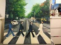 Beatles baby Road hand painted