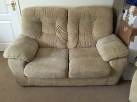 FREE Cream Sofa and 2 Armchairs