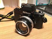 Nikon F2 & 50mm f1.4 prime lens