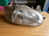 ford escort mk6 front headlights