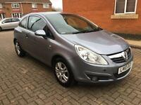 Vauxhall corsa 2010 1.0 manual cheap insurance bargain price car fsh