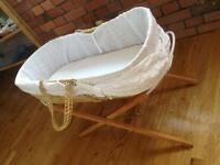 Moses Basket -FREE TO A GOOD HOME