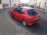 Peugeot 206 2002 low mileage. BARGAIN!!!!!