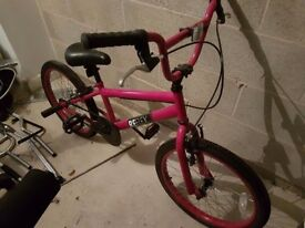 Pink Girls BMX Excellent Condition