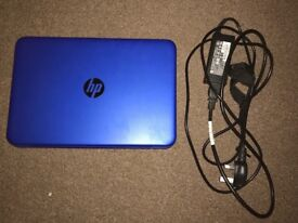 HP stream 11 laptop/notebook in cobalt blue colour PERFECT CONDITION