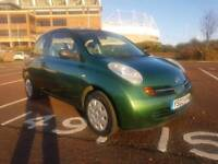 2003 NISSAN MICRA 1.0 IN GREAT CONDITION THROUGH OUT, FULL 12 MONTHS M.O.T