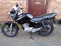 2012 Yamaha YBR 125 learner motorcycle, MOT, very good condition, great runner, bargain, not cbf