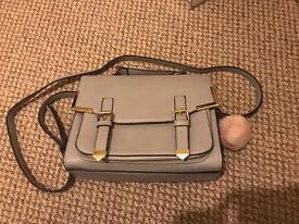 ASOS grey shoulder bag