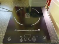 single ring induction hob only used 2/4 times